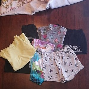 Lot of girl's clothes size 6